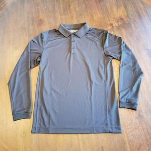 Nike men's golf long sleeve polo size S